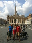 Yes we are in Roma