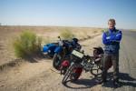 Martin uit Luik en een fraaie BMW uit Turkmenistan